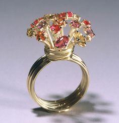 "Anna Heindl – ring ""Sonnensaphir"" 2001"
