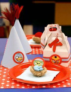Angry Birds First Birthday Party Idea    #BirthdayWire