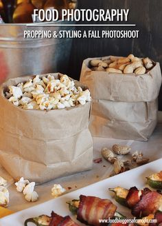 Propping and Styling for a Fall Food Photography Photoshoot Fall Photography Props, Food Photography Tips, Fall Food, Winter Food, Turkey Casserole, Serving Platters, Fall Recipes, Food Hacks, Food Styling
