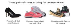 Packing for business trip can be stressful! We show you the only 3 pairs you will need!