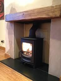 Contura 51L In Grey Installed On Riven Slate Hearth We Rendered
