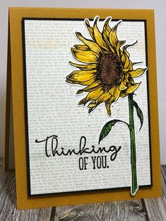#sunflowers kit #clubscrap card