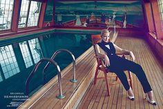 Голливудская актриса Кейт Бланшетт для журнала Harper's Bazaar China