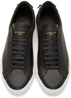 Givenchy Black Codification Low-Top Sneakers