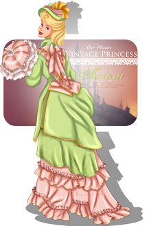 Vintage Princess Aurora by selinmarsou on DeviantArt