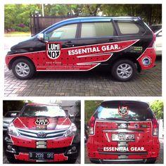 Luminox_indonesia car sticker branding by : Yudha F Saputra