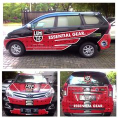 Luminox_indonesia car sticker branding by : Yudha F Saputra