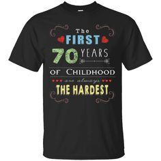 Hi everybody!   First 70 Years Old Childhood Hardest 70th Birthday Fun Shirt https://lunartee.com/product/first-70-years-old-childhood-hardest-70th-birthday-fun-shirt/  #First70YearsOldChildhoodHardest70thBirthdayFunShirt  #First #70 #Years #OldShirt #Childhood70thFun #Hardest70thBirthdayShirt #70thBirthdayFun
