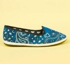 Bandana print. | 26 Irresistible Pairs Of Sneakers