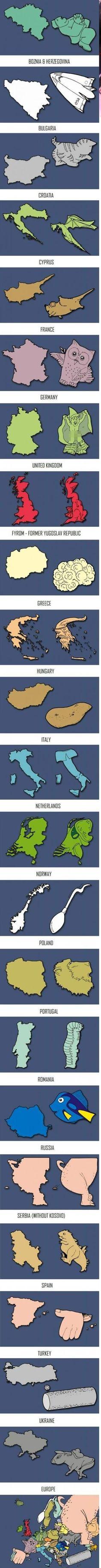 Europa als Symbole