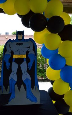 Batman Birthday Party Ideas | Photo 18 of 24 | Catch My Party