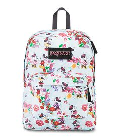 The Disney SuperBreak brings Mickey, Minnie and the whole gang together for fun adventures with you. This classic pack features one main compartment, padded shoulder straps and back panel, front utility pocket and all the magic of Disney.