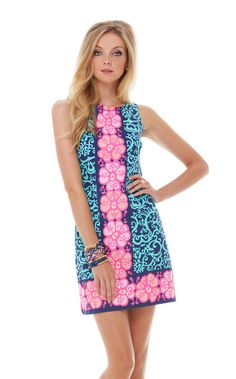 Every time I think I'm over Lilly, there's one dress that pulls me back in and reminds me that deep down, I'll always be a preppy main line princess. This is that dress.