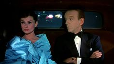Fred Astaire with Audrey Hepburn in Givenchy.