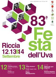 83^ Festa dell'Uva a #Riccia: 3 giorni per celebrare la vendemmia #Molise
