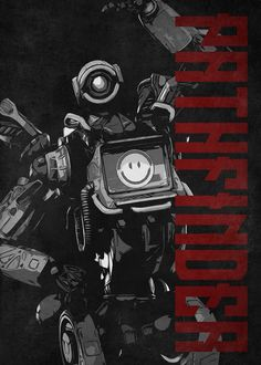9 Best Apex Legends Black & White & Red Characters Displate
