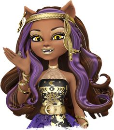 monster high thirteen wishes characters | Clawdeen Wolf ®
