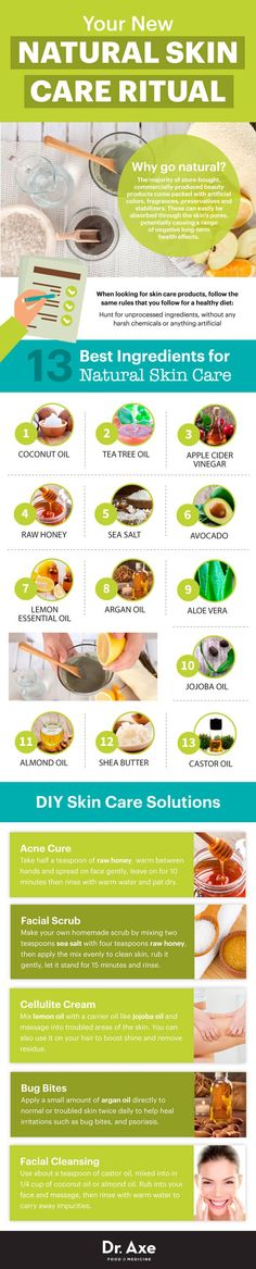Most skin care products are full of harmful ingredients, toxins and chemicals. The good news? There's plenty of natural ways to make your…
