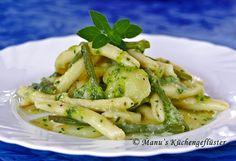 Ligurische Nudeln mit frischem Basilikum-Pesto