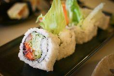 ... - Sushi on Pinterest | Vegetarian Sushi Rolls, Sushi and Avocado Roll