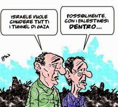"""""""Il Mondo in una vignetta"""" di Massimo Ottavi Ottomax: La """"nuova"""" soluzione finale..."""