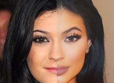 The One Subtle Change Kylie Jenner Made That Changed Her Whole Entire Look   Cambio - eye brows and lips
