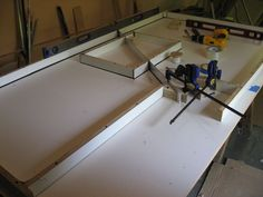 Concrete Countertops For The Kitchen   A Solid Surface On The Cheap. Barn  KitchenPatio KitchenDiy ...