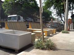 Na Vila Madalena, Rua Fidalga ganha parklet; SP contará com 30 até o fim do ano | Catraca Livre