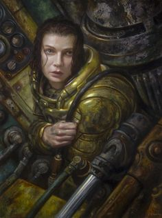 On View: Donato Giancola and Fred Harper at Last Rites Gallery | Hi-Fructose Magazine