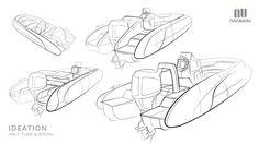 Yacht Tender Interior Design- Phase 2 on Behance