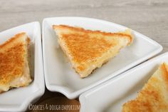 Grilled cheese with mustard dip