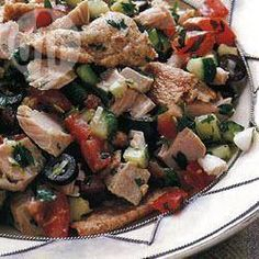 Ensalada tunesina de atún @ allrecipes.com.mx