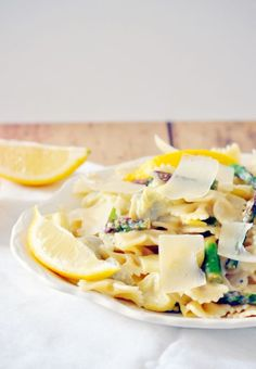 Lemon artichoke pasta - a 20 minute meal