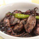 Adobong Pusit | this website has various delicious famous Filipino Dishes