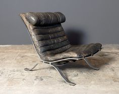 """Arne Norell """"Ari"""" lounge chair, 1966 // get it for the man in your life"""