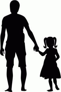 I think I'm in love with this shape from the Silhouette Online Store! I think I'm in love with this shape from the Silhouette Online Store! Father Daughter Tattoos, Daddy Daughter Dance, Tattoos For Daughters, To My Daughter, Silhouette Design, Hand Silhouette, Person Silhouette, Silhouette Online Store, Brother Scan And Cut