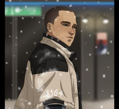 Detroit become human Markus By: cryingadenium