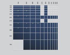 usm modular furniture size chart...