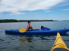 kayaking on Belews Lake, NC 5/13