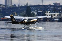 My second floatplane, Seattle Seaplanes Cessna 172. I had the time of my life flying this airplane a couple of years ago.