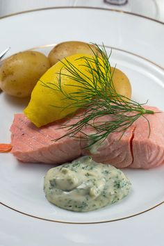 Cold poached #salmon. #SwedishFood recipe from excellent @Swedish_Food  @SwedishFood.com.com #svmat