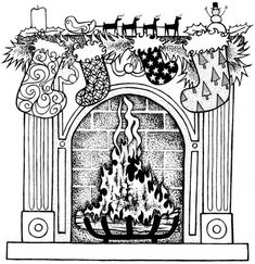 Image detail for -coloring pages for all ages best christmas coloring book ever