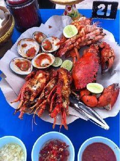 quachee's blog: Bali Seafood: Lia Cafe Jimbaran