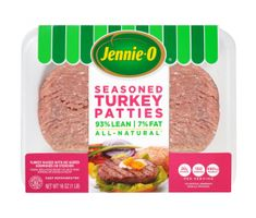 Jennie-O All-Natural Seasoned Turkey Patties - Turkey Patties, Turkey Burgers, Best Burger Buns, Jennie O Turkey, Frozen Turkey, Homemade Burgers, Freezer Meals, Meal Prep, Beef