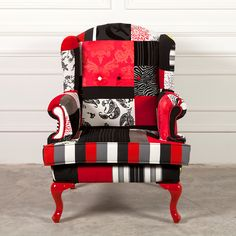 Patchwork Chair Design. $1 300,00, via Etsy.