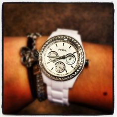 Fossil...I am in love with this watch, but with number :)