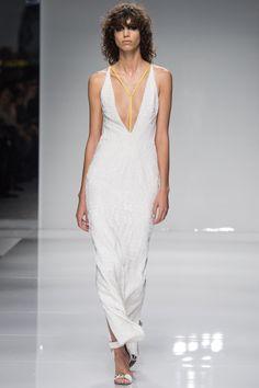 Atelier Versace Spring 2016 Couture Fashion Show - Mica Arganaraz