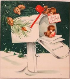 36 best vintage christmas cards wmailboxes images on christmas cards vintage birds google search christmas bird christmas mail christmas post m4hsunfo