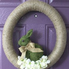 Nature Inspired Easter Wreath – Easter Craft Blog Hop