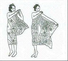 Sarongs! I could have used you when I was in Rio de Janeiro this past week...